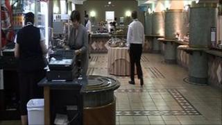Stormont canteen