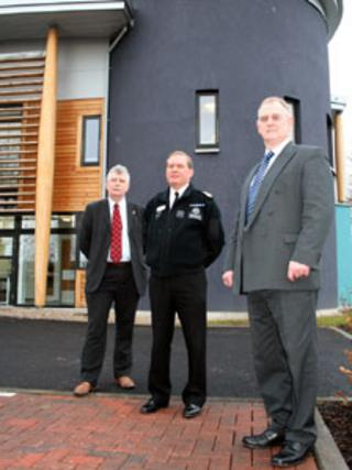 Nairn police station opening ceremony. Pic: Northern Constabulary