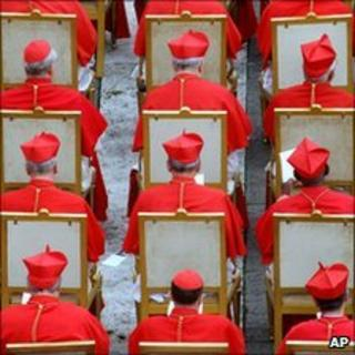 Cardinals during the 2006 consistory
