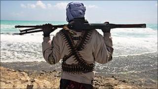Somali pirate