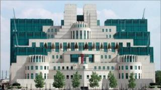 MI6 offices (Library)