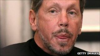 Oracle chief executive Larry Ellison