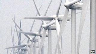 Vattenfall wind turbines off Thanet coast