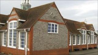 Ryeish Green School in 2009
