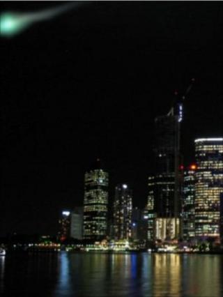 Fireball over Brisbane (Roy Soc)