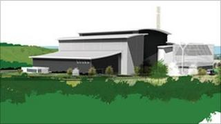 The proposed Energy from Waste facility