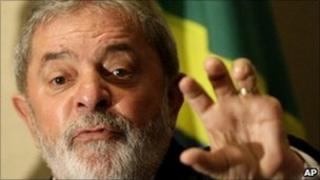 File picture of President Lula