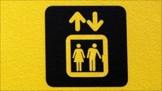 Lift sign