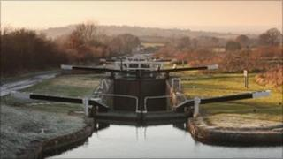Kennet and Avon Canal locks