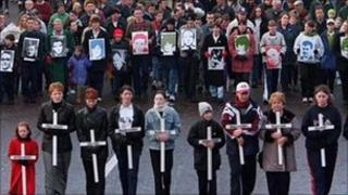 Bloody Sunday commemorative march