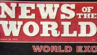News of the World banner