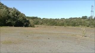 Viridor site near Lee Mill