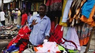 Traders in Dar es Salaam, Tanzania