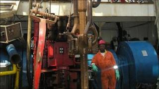 Bowleven oil installation