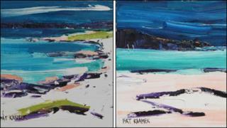Pat Kramer paintings