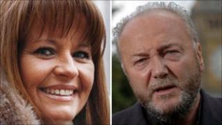Gail Sheridan and George Galloway