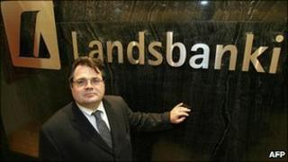 Former CEO of Iceland's Landsbanki bank Sigurjon Arnason