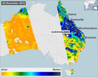 Smos map 25 December (CESBIO)