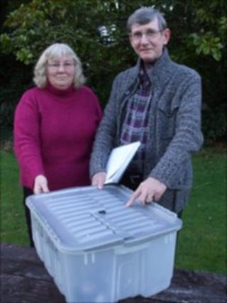 Christine Reid and Geoff Read