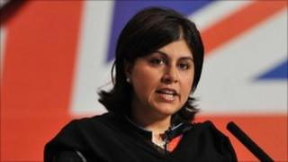 Baroness Warsi, co-chairman of the Conservative Party
