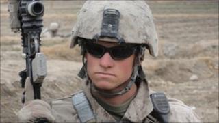 A US marine