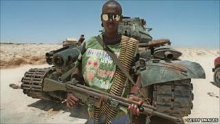 Somali fighter