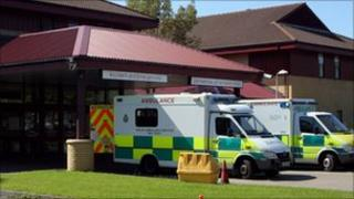 Prince Philip Hospital in Llanelli