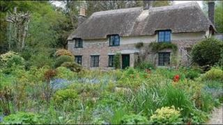 Hardy's Cottage in Higher Bockhampton, Dorchester
