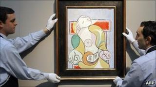 Picasso's La Lecture