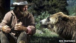 Dan Haggerty in The Life and Times of Grizzly Adams