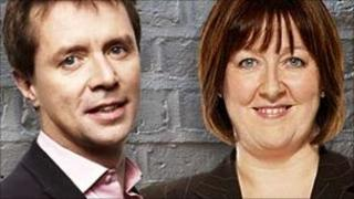 Nicky Campbell and Shelagh Fogarty