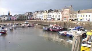Ilfracombe inner harbour