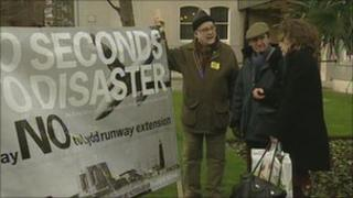 Lydd protest