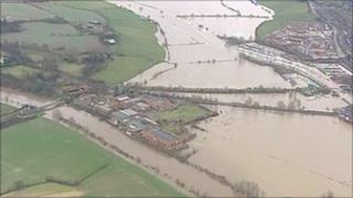 Flooding in Gloucester in 2007