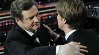 Colin Firth and Tom Hooper