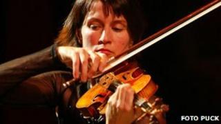 Violin virtuoso Viktoria Mullova