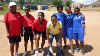 Girls' football team