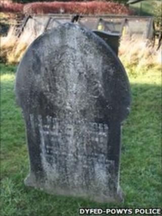 PC William Davies' grave