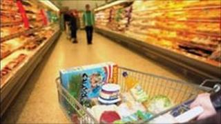 Supermarket trolley - (copyright National Consumer Council)