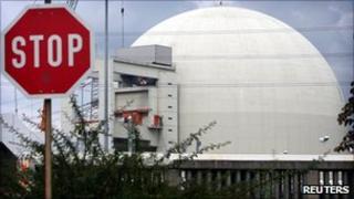 German nuclear plant