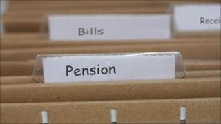 Pension files