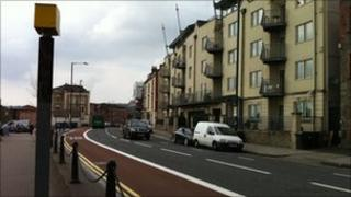 Speed camera in Bristol