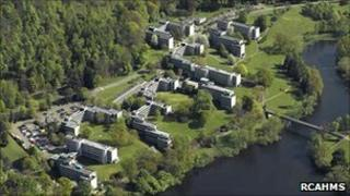 Stirling University. Pic: RCAHMS