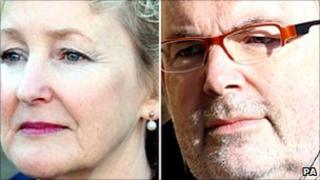 Felicity Drumm and Malcolm Webster