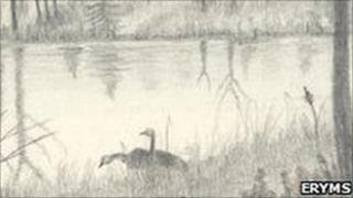 Prisoner's artwork