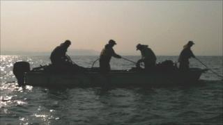 Shin Futsu fishermen at work