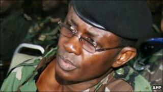 Gen Phillippe Mangou in 2006