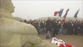 French group visits the National Memorial to The Few