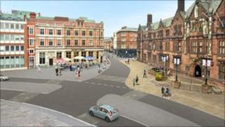 Proposed changes to the council house junction