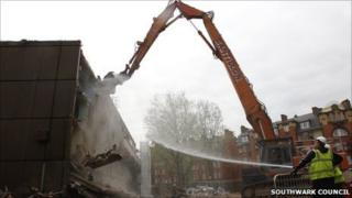 Demolition of Heygate Estate
